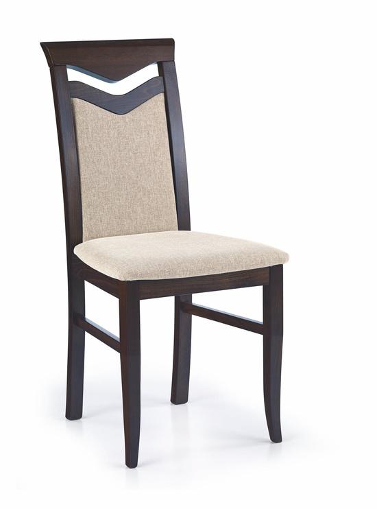 Ēdamistabas krēsls Halmar Citrone, brūna/smilškrāsas