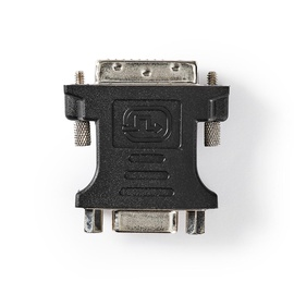 Adapter DVI-VGA DVI-D 24+1-PIN, black