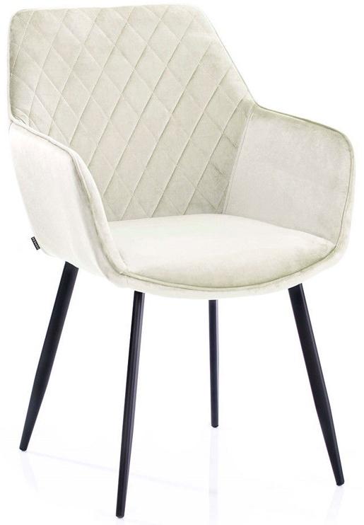 Ēdamistabas krēsls Homede Vialli Cream, 2 gab.