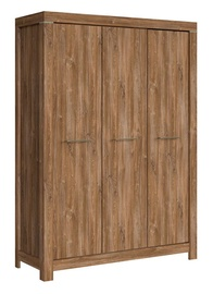 Гардероб Black Red White Gent Stirling Oak, 150x56x210 см