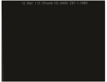 Vagner WH-GL7598 DIN10 Protective Welder Filter