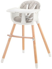 KinderKraft Sienna Highchair 2in1 Grey