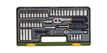Комплект Proxxon 23280 49-Piece Precision Engineer's 1/4-Inch Drive Set