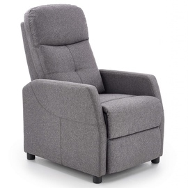 Atzveltnes krēsls Halmar Felipe Dark Grey, 64x84x103 cm