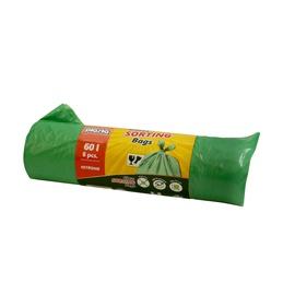 Мешки для мусора Plasta 8300800Z, 60 л, 8 шт.