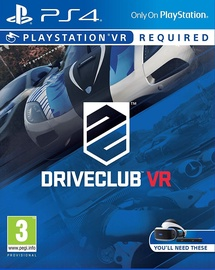 Driveclub VR PS4 VR