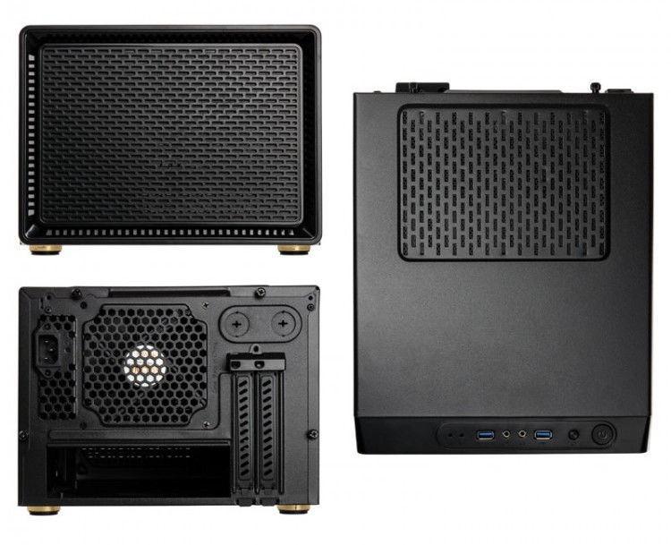 Kolink Mini ITX/Micro ATX Case Satellite Black