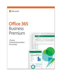 Microsoft Office 365 Business Premium Retail 1-Year Estonian License Medialess