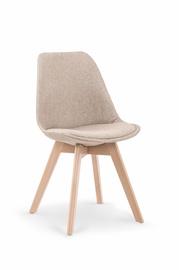 Ēdamistabas krēsls Halmar K303, pelēka/smilškrāsas
