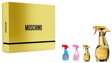 Komplekts sievietēm Moschino Fresh Gold Couture 4pcs Set 65 ml