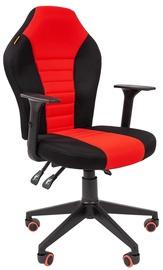 Spēļu krēsls Chairman 8 Black/Red