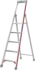 Hymer Step Ladder with Platform Single-Sided 4-Steps