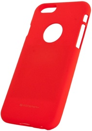 Mercury Soft Surface Matte Back Case For Samsung Galaxy S9 Red
