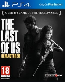 PlayStation 4 (PS4) spēle Last Of Us Remastered PS4