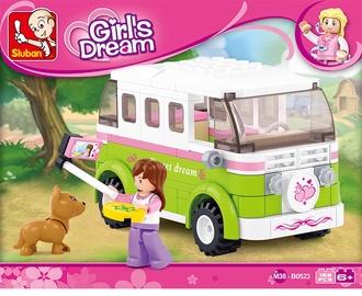 Sluban Girls Dream Camper 158pcs M38-B0523