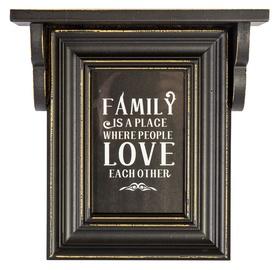 Фоторамка Home4you Family Photo Frame 10x15cm Black