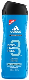 Dušas želeja Adidas 3in1 After Sport, 400 ml