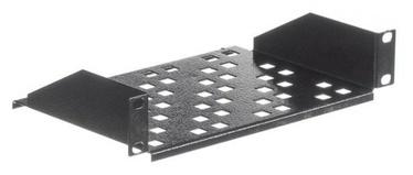 Netrack Equipment Shelf 10'' 1U/150mm Black