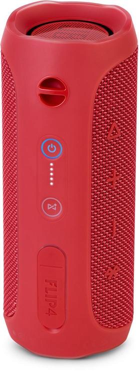 Беспроводной динамик JBL Flip 4 Red, 16 Вт