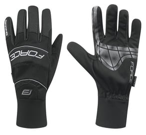Force Windster Spring Full Gloves Black M