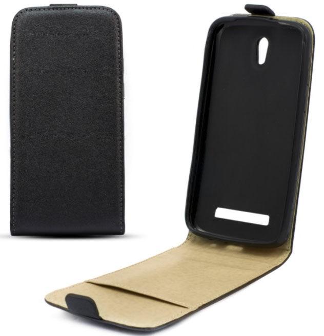 Telone Shine Pocket Slim Flip Case HTC One E8 Black