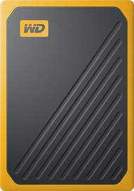 Western Digital My Passport Go 500GB External SSD Black/Yellow