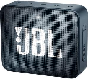 Беспроводной динамик JBL GO 2, синий, 3 Вт