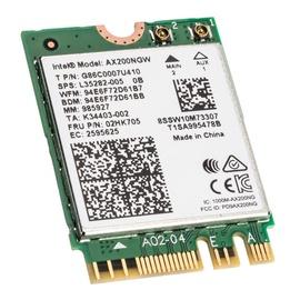 Bezvadu tīkla adapteris (Wireless) Intel Wi-Fi 6 AX200