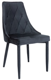 Ēdamistabas krēsls Signal Meble Trix Black, 1 gab.
