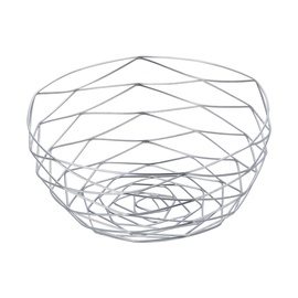 SN Fruit Basket D24cm Silver