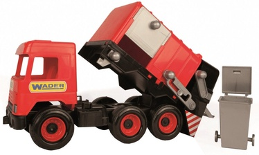 Wader Middle Garbage Truck Red 32113
