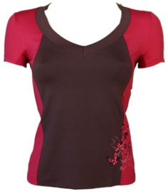 Bars Womens T-Shirt Brown/Pink 93 2XL