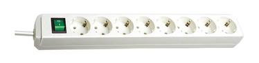 Brennenstuhl Power Strip 8-Outlet 250V 16A 3m White