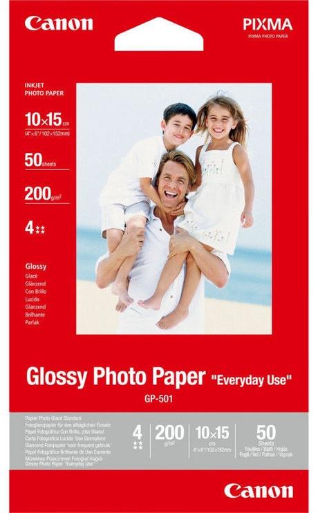Фотобумага Canon GP-501 Photo Paper 10x15 Glossy 50pcs