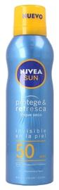 Солнцезащитный спрей Nivea Sun Protect & Dry Touch Refreshing SPF50, 200 мл