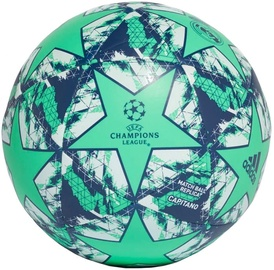 Adidas UCL Finale 19 Real Madrid Capitano Ball DY2541 Green Size 5