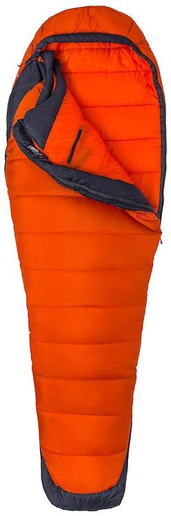Спальный мешок Marmot Trestles Elite Eco 0 Orange Haze/Dark Steel, левый, 206 см