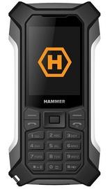 Mobilais telefons MyPhone Hammer Patriot, melna, 32MB/64MB