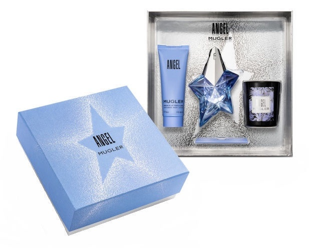 Thierry Mugler Angel 25ml EDP + 50ml Body Lotion + 70g Candle