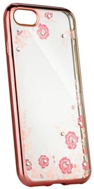Blun Diamond Back Case For Sony Xperia XA1 Transparent/Rose Gold