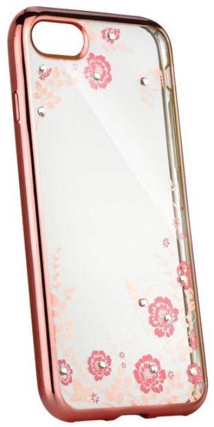 Blun Diamond Back Case For Sony Xperia XA1 Transparent/Rose Gold