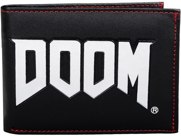Licenced Doom Logo Wallet Black