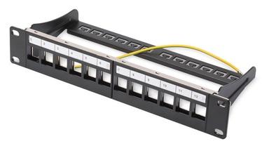 Коммутационная панель Digitus Professional Modular Patch Panel 12-port