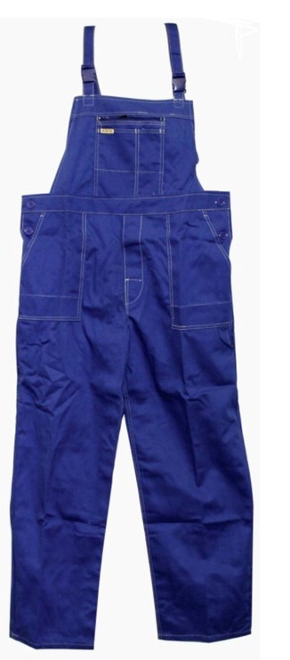Artmas Bib-Trousers Blue 170cm
