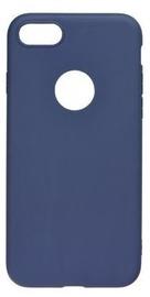 Mocco Ultra Slim Soft Matte Back Case For Samsung Galaxy A8 Plus A730 Blue