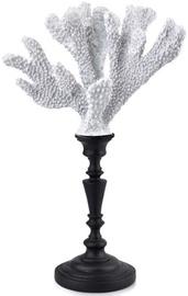 Mondex Samoa Coral Figure On A Stand White 19.5x12.7x31cm