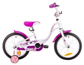 Bērnu velosipēds Romet Tola 12 White Violet 19