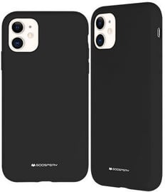 Mercury Soft Touch Matte Vack Case For Apple iPhone 11 Black