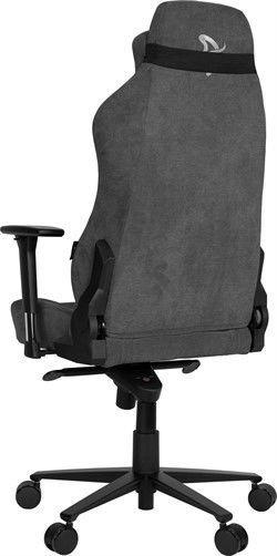 Spēļu krēsls Arozzi Vernazza Soft Fabric Dark Grey