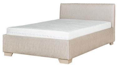 Кровать Bodzio Amadis A73 Latte, с матрасом, 120 x 200 cm